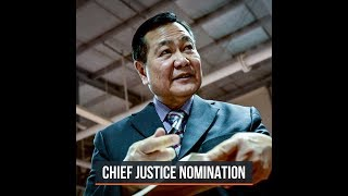 Carpio vies for Supreme Court chief justice