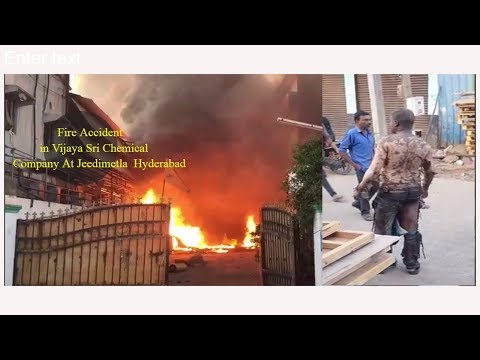 Breaking News : Massive Fire Accident At Jeedimetla Industrial Area | Hyderabad | IBC NEWS INDIA