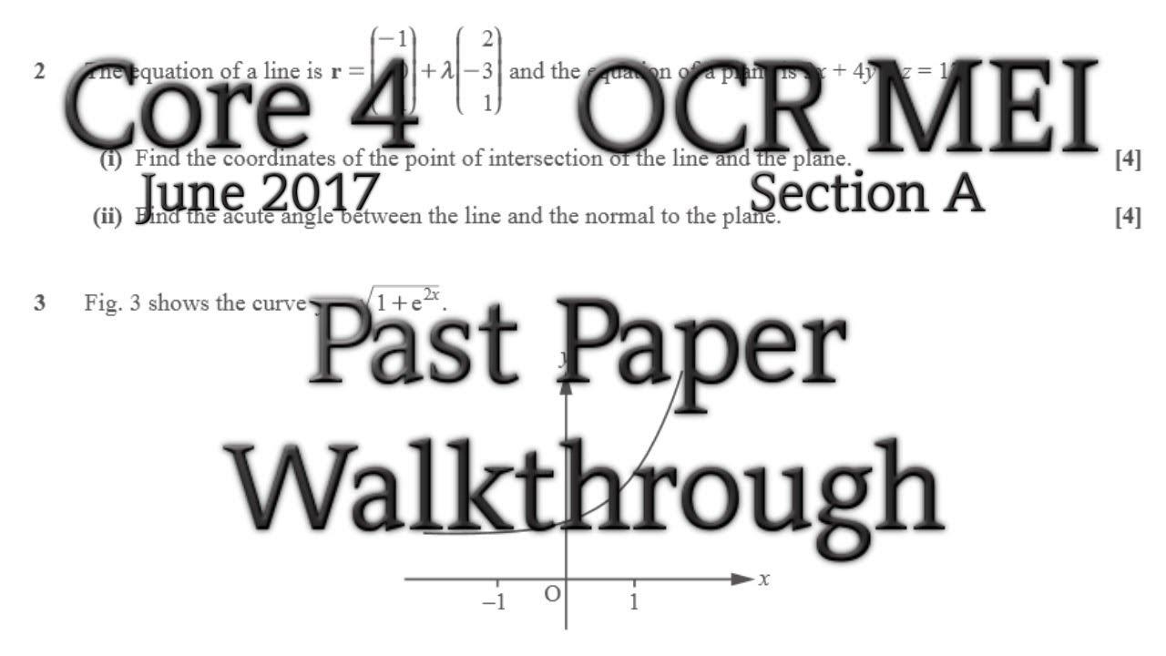 c4 18 june 2013 mark scheme