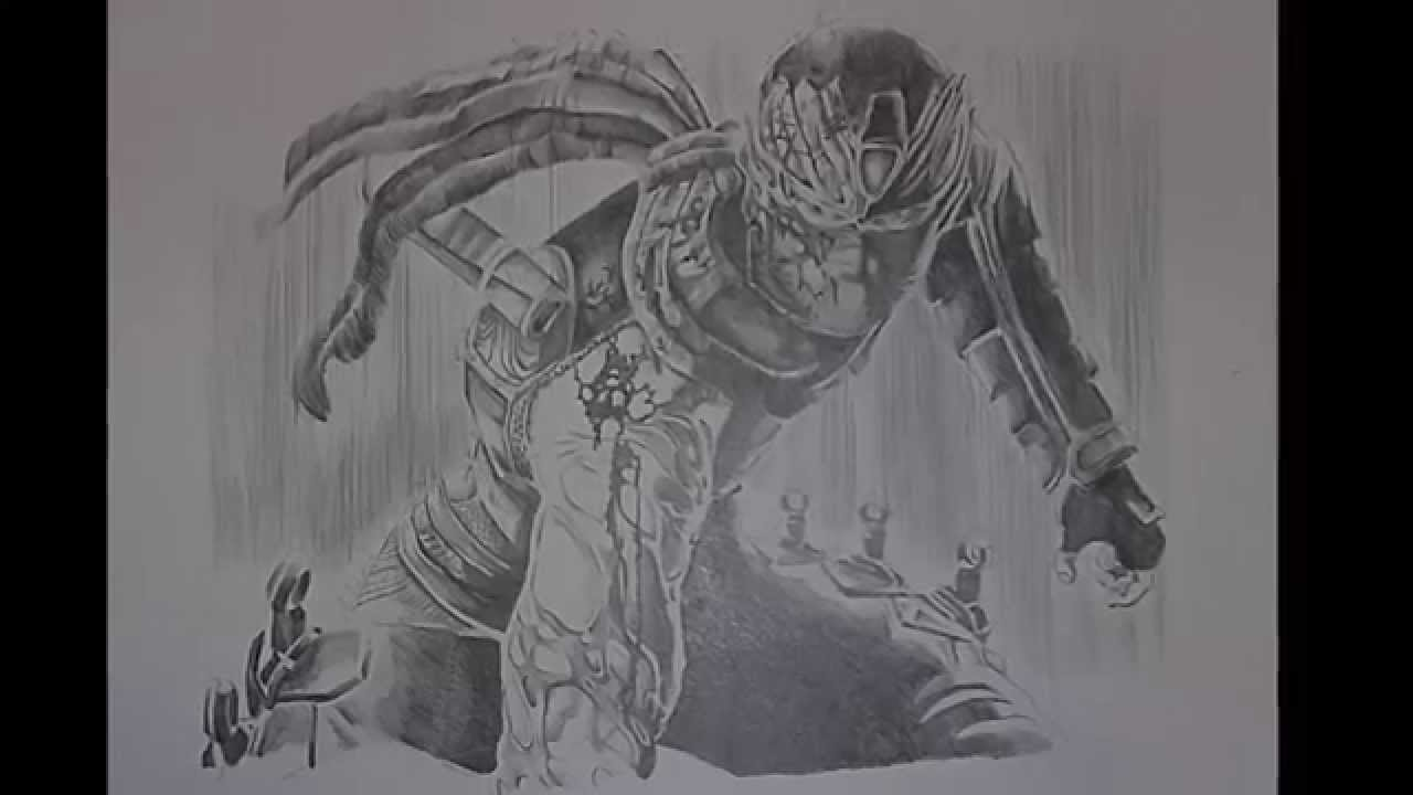 Ninja gaiden ryu drawing