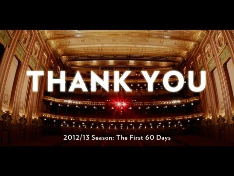 Lyric Opera of Chicago - The First 60 Days of the 2012/13 Season