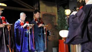 奈良吉野山桜本坊にて行われた天武天皇ご開眼の一部 2009年11月22日。ht...