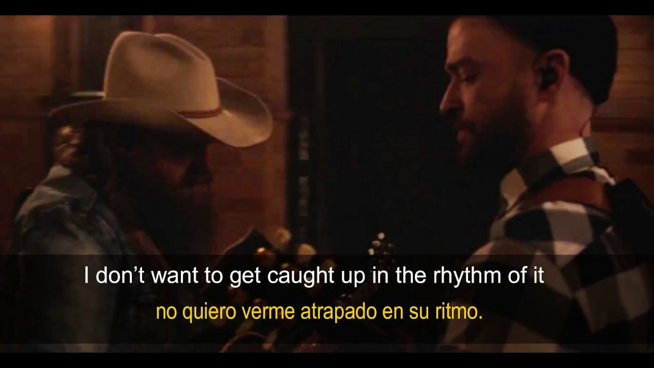 Justin Timberlake - Say Something Ft. Chris Stapleton(Letra  Español E Inglés)