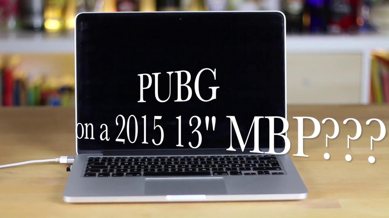 PlayerUnknown's BattleGrounds (PUBG) 13-inch MacBook Pro ...