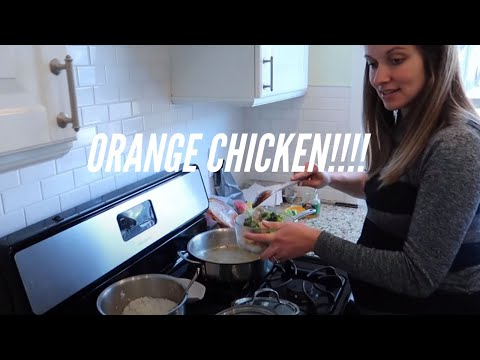 American Wife Cooks Orange Chicken For Chinese Husband