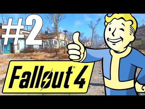 Fallout 4 Lets Play - Part 2 - Welcome to Sanctuary! (Survival Mode)
