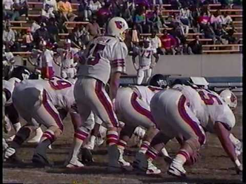 Charlie Bailey Show Memphis St Louisville Game 1987 Part One