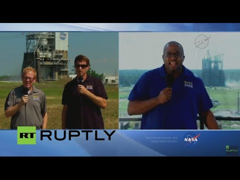 LIVE: NASA to test Space Launch System Engine built for Mars exploration flight