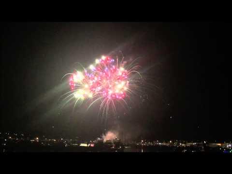 2015 New London, CT Sailfest Fireworks Extravaganza