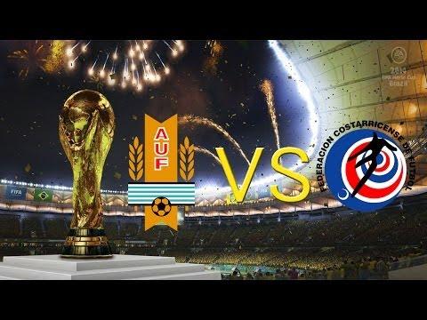Fifa 14: Coupe du monde #6 (Uruguay-Costa rica)