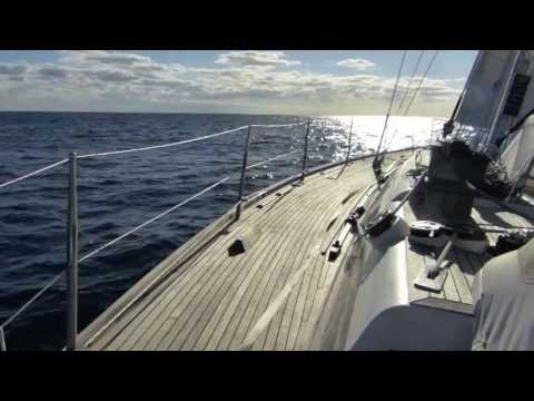 5. Days 2-3 Sailing the Bermuda Triangle - Offshore Sailing on Bella Luna - Swan 48 sailboat