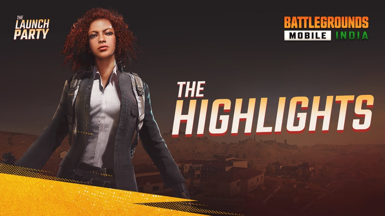 Best Moments - The Launch Party Highlights | BATTLEGROUNDS MOBILE INDIA