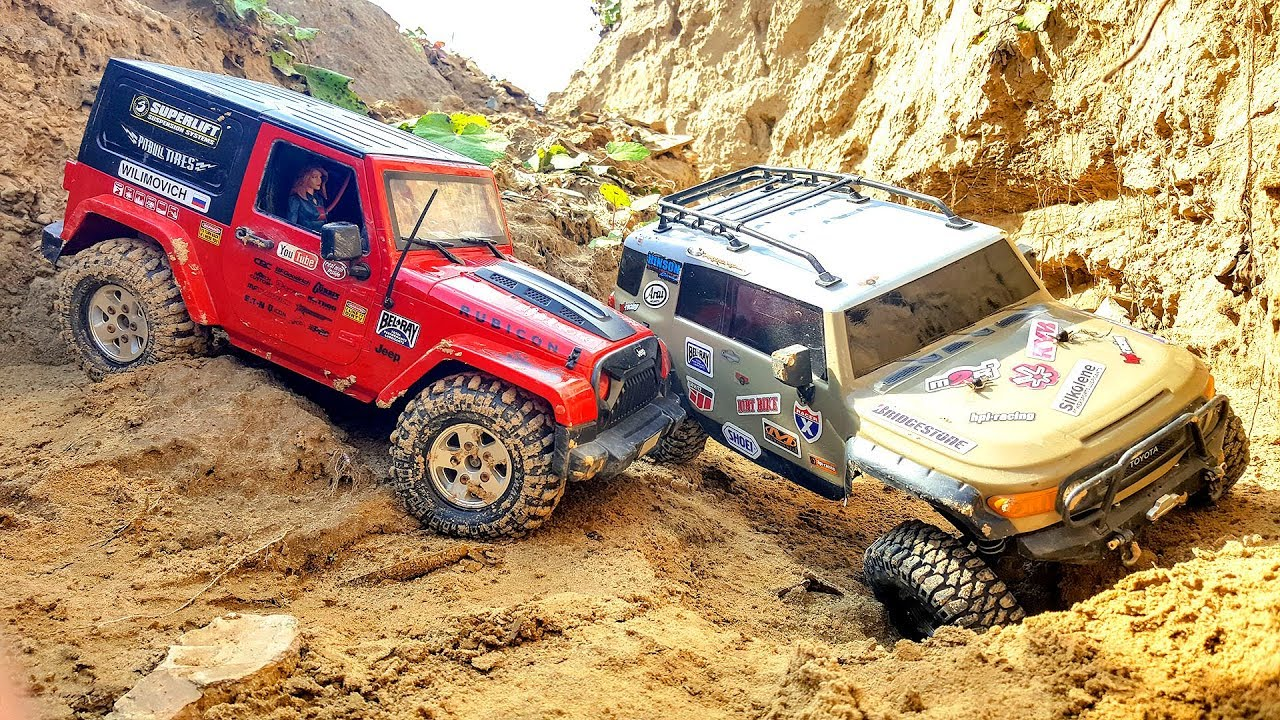 RC Cars Beautiful Canyon Adventure Jeep Wrangler MST CFX, Toyota FJ Cruiser HPI Venture | Wilimovich