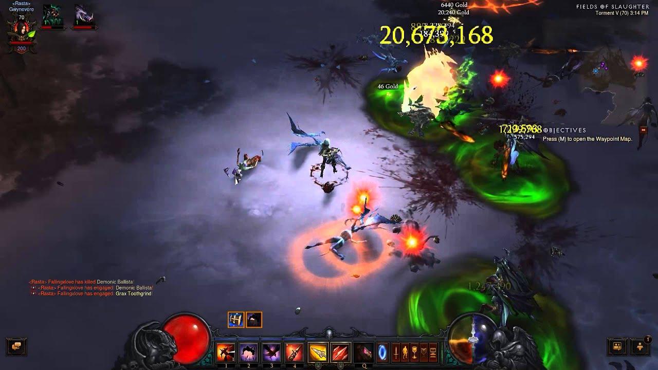 diablo 3 patch 2.1.2 Demon hunter gold farm built 50mil ...