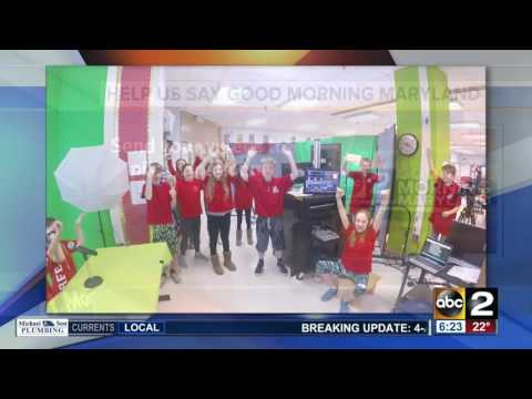 Rodgers Forge Elementary School gives creative Good Morning Maryland shout-out