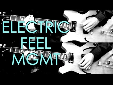 Electric Feel - MGMT ( Guitar Tab Tutorial & Cover )