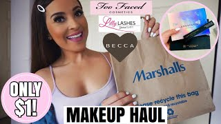 You Won't Believe What I Found At Marshalls!♡High End Makeup Finds On CLEARANCE + HAUL!