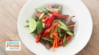 Vietnamese Steak And Asparagus Salad - Everyday Food With Sarah Carey
