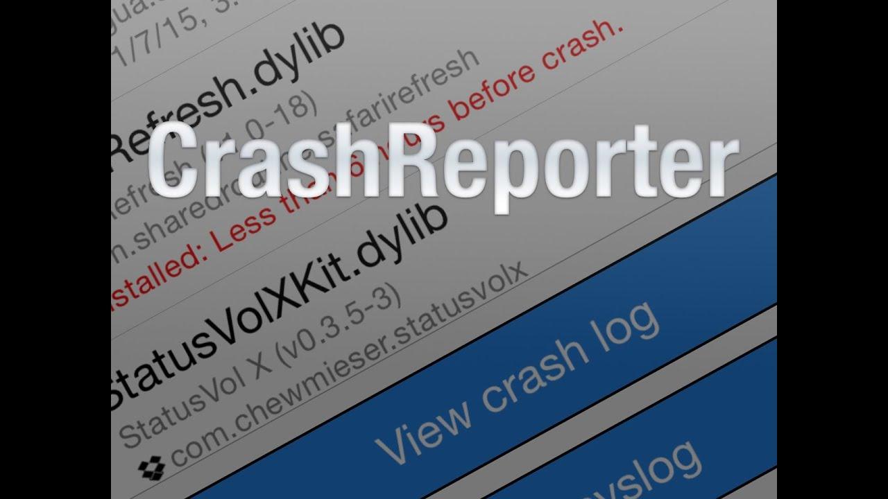 How to troubleshoot jailbreak tweak crashes with CrashReporter