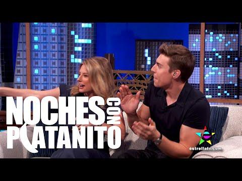 Entrevista con Ingrid Martz, Nolan Gerard Funk y Sugar Lyn Beard Noches con Platanito
