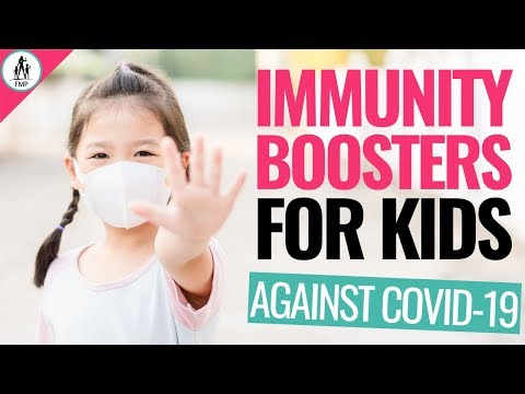 5 BEST Immune Boosters For Kids Under 12