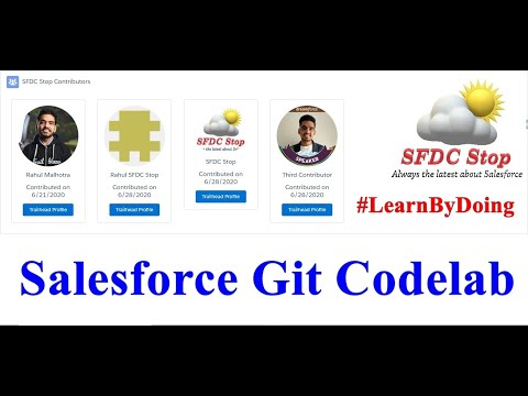 Salesforce Git Codelab | Learn By Doing | Live Deployment | SFDC Stop | GitHub Actions