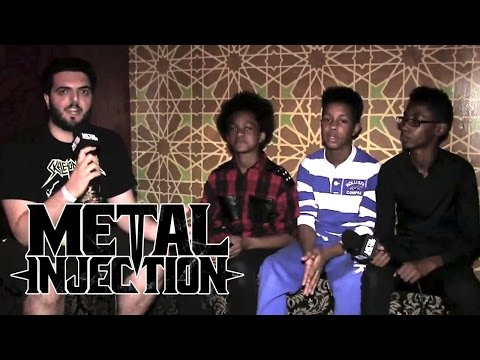 UNLOCKING THE TRUTH Interview on Getting Signed So Young | Metal Injection