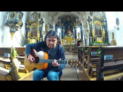Adeste Fidelis/O Come All Ye Faithful - Fingerstyle Solo Guitar - Helmut Bickel