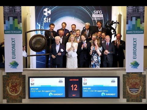 Sif Group celebrates listing on Euronext Amsterdam