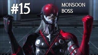 Metal Gear Rising: Revengeance Gameplay Walkthrough Part 15 - Monsoon Boss - Mission 4