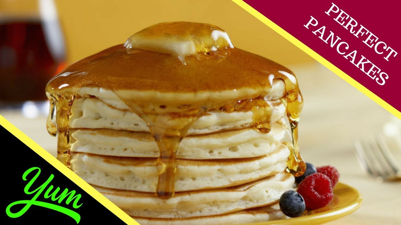 How to Cook Fluffy Pancakes Perfect Pancakes | How to make ...