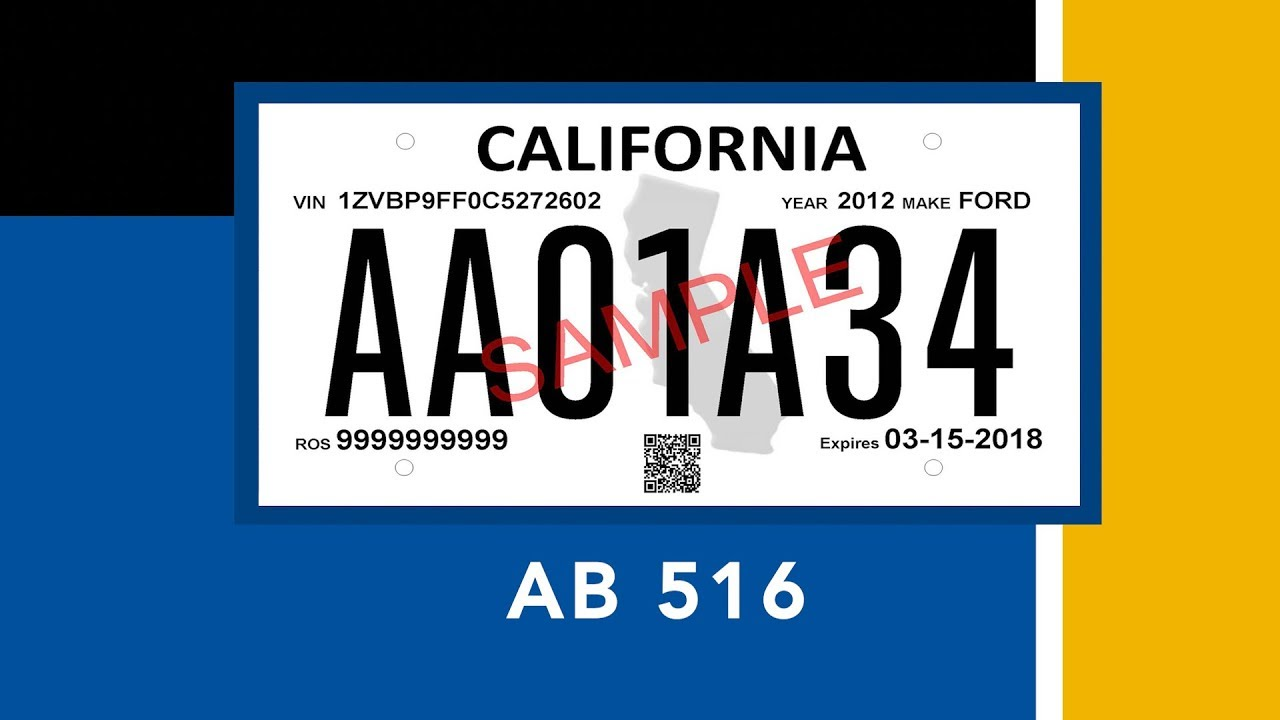 image relating to Printable Temporary License Plate named Short-term License Plate Fact of Sale Legislation Can take Impact