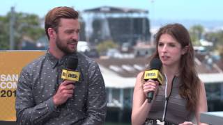 IMDb Exclusive: Justin Timberlake and Anna Kendrick Tease 'Trolls' at Comic Con 2016
