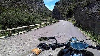 Gorges du Verdon ride 1/3 - Castellane to Pont de Soleils - Provence, France - road D952