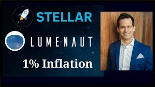 Earn 1% a year inflation with the lumenaut Stellar Lumen inflation pool