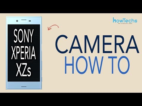 Sony Xperia XZs - How to use the Camera and 960fps Super Slow Motion Video Recorder