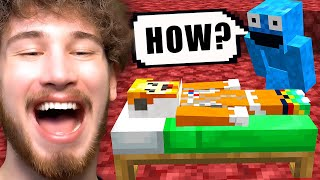 I programmed Minecraft to TROLL my friend
