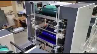 EVA PM MACHINE A SERVIETTES EN PAPIER IMPRESSION 2 COULEURS 2 GAUFRAGES
