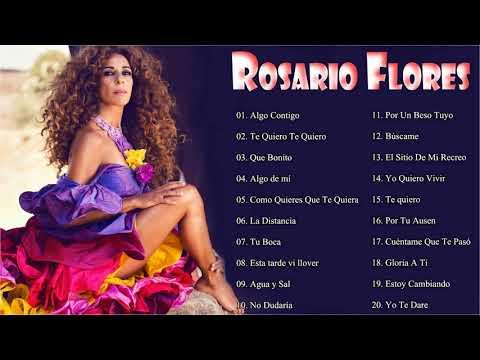 R.o.s.a.r.i.o F.l.o.r.e.s Sus Grandes Exitos ||  Top 20 Mejores Canciones