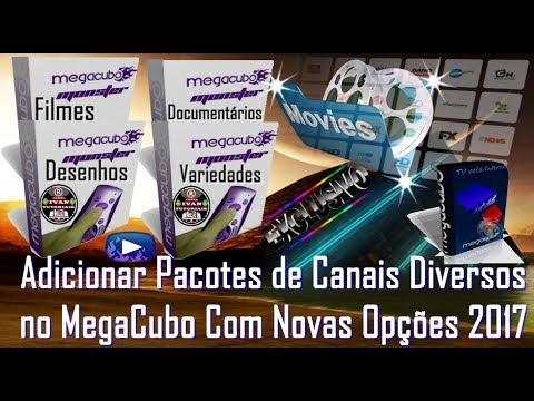 pacotes do megacubo