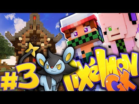 2 EVOLUZIONI! CON ALICE LA DECORATRICE! - Minecraft PIXELMON GX  ITA EP.3