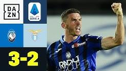 Packender Krimi! Bergamo dreht irres Top-Spiel: Atalanta - Lazio 3:2 | Serie A | DAZN Highlights