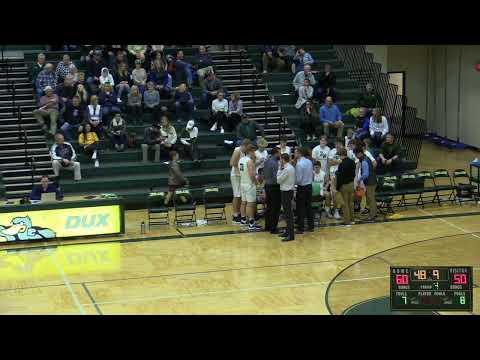 Zeeland West High School vs. Coopersville High School Boys Basketball  December 17, 2019