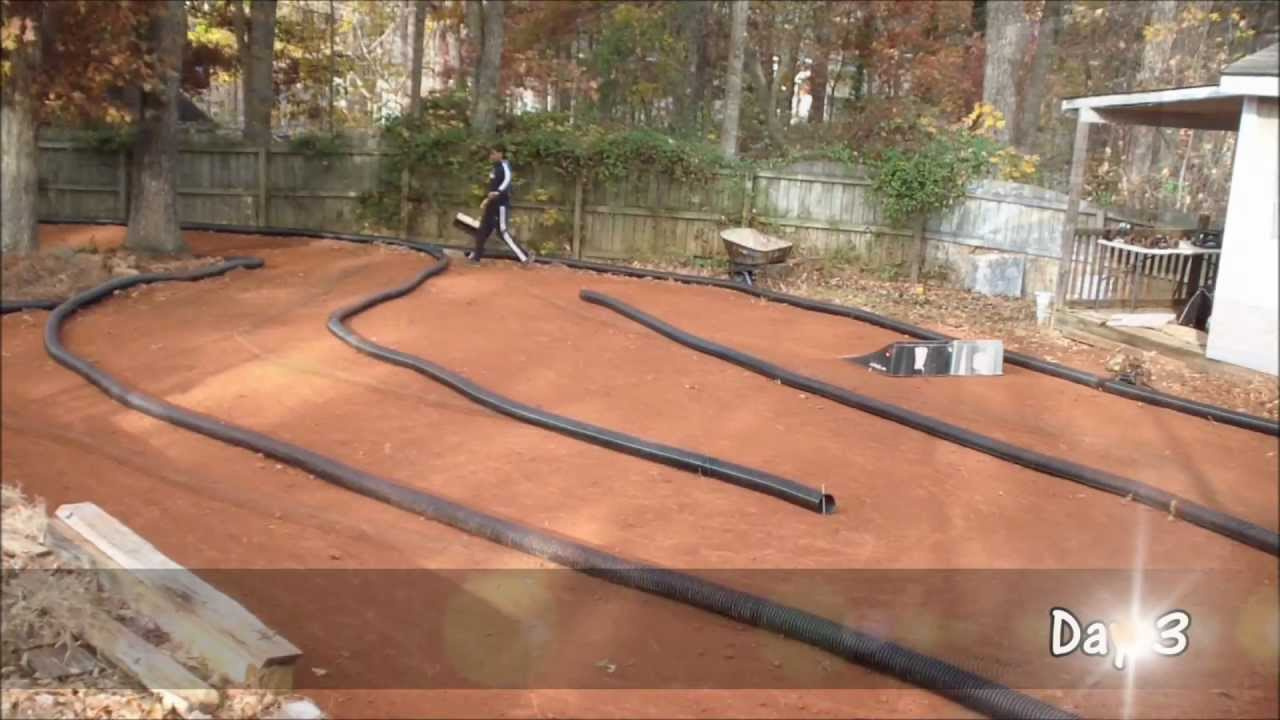 The Making of a Real Backyard RC Track : Part 1 of 2