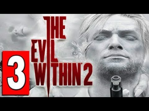 THE EVIL WITHIN 2 Walkthrough Part 3 CHAPTER 4 BEHIND THE CURTAIN / THE MARROW Access Tunnels.