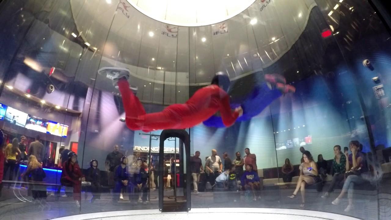 Mom Indoor Skydiving
