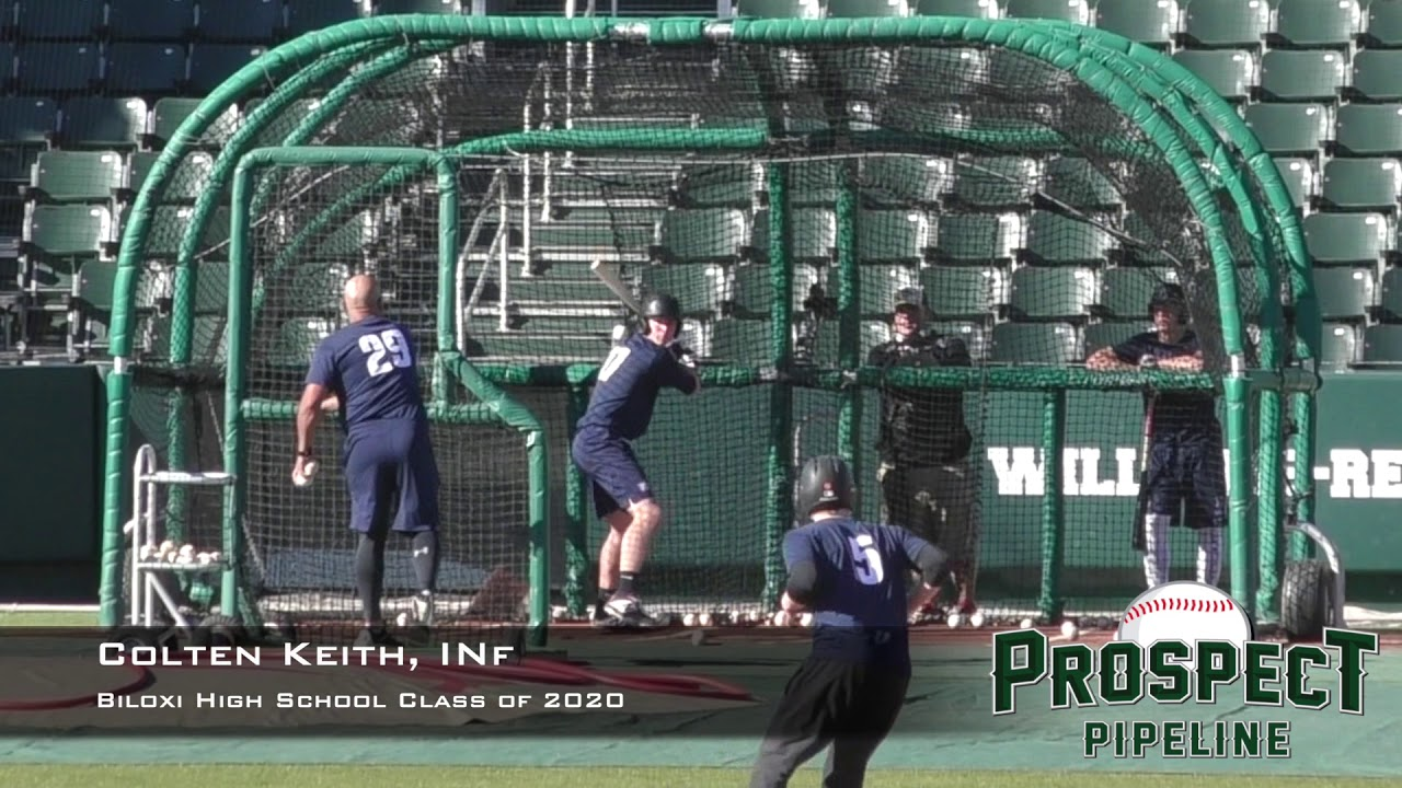 Colten Keith Prospect Video Inf Biloxi High School Class Of 2020