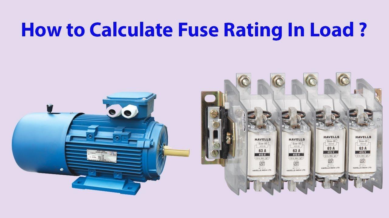 Starter Motor Circuit Fuse Rating