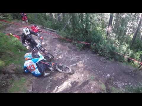 Vallnord Andorra Downhill Mountain Bike UCI WORLD CHAMPS Track POV Masters 2017