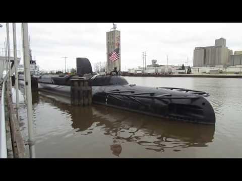 USS Cobia (SS-245) Submarine Wisconsin Maritime Museum Manitowoc, WI 11-30-16